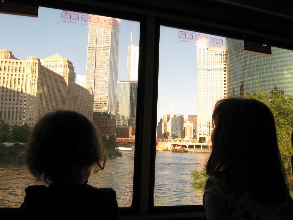 Arriving into Union Station Riding Amtrak with kids