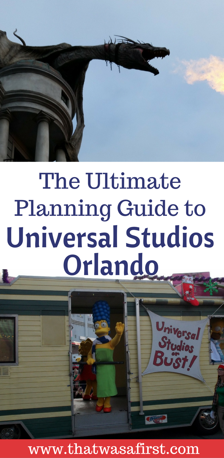 A little planning can make your first trip to Universal Studios Orlando a success!