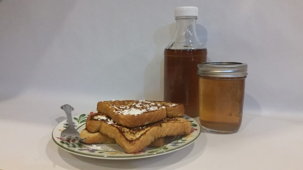 Maple Syrup and french toast