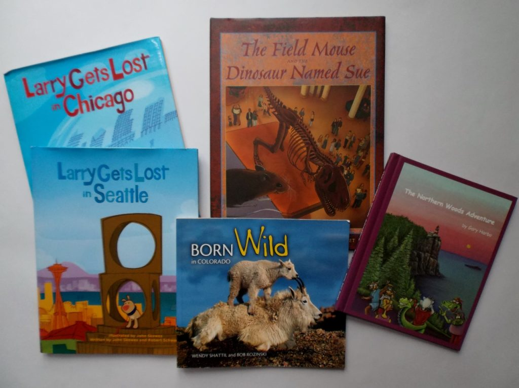 Kids travel and story books