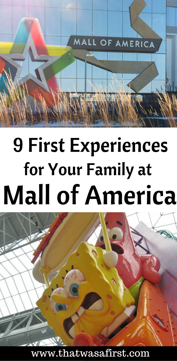 It's not all about the shopping at the Mall of America! There is a lot of family fun experiences too!