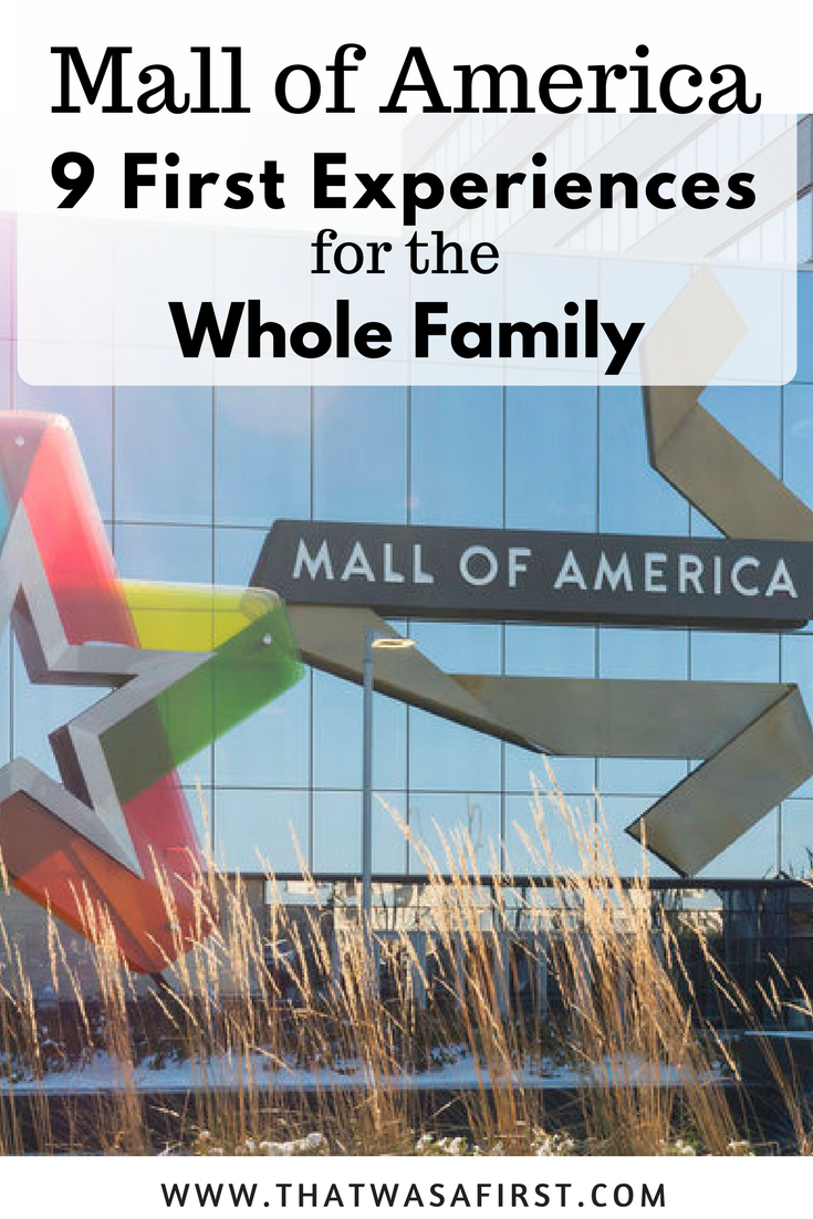 The Mall of America is full of family fun, delicious food, and so much more!