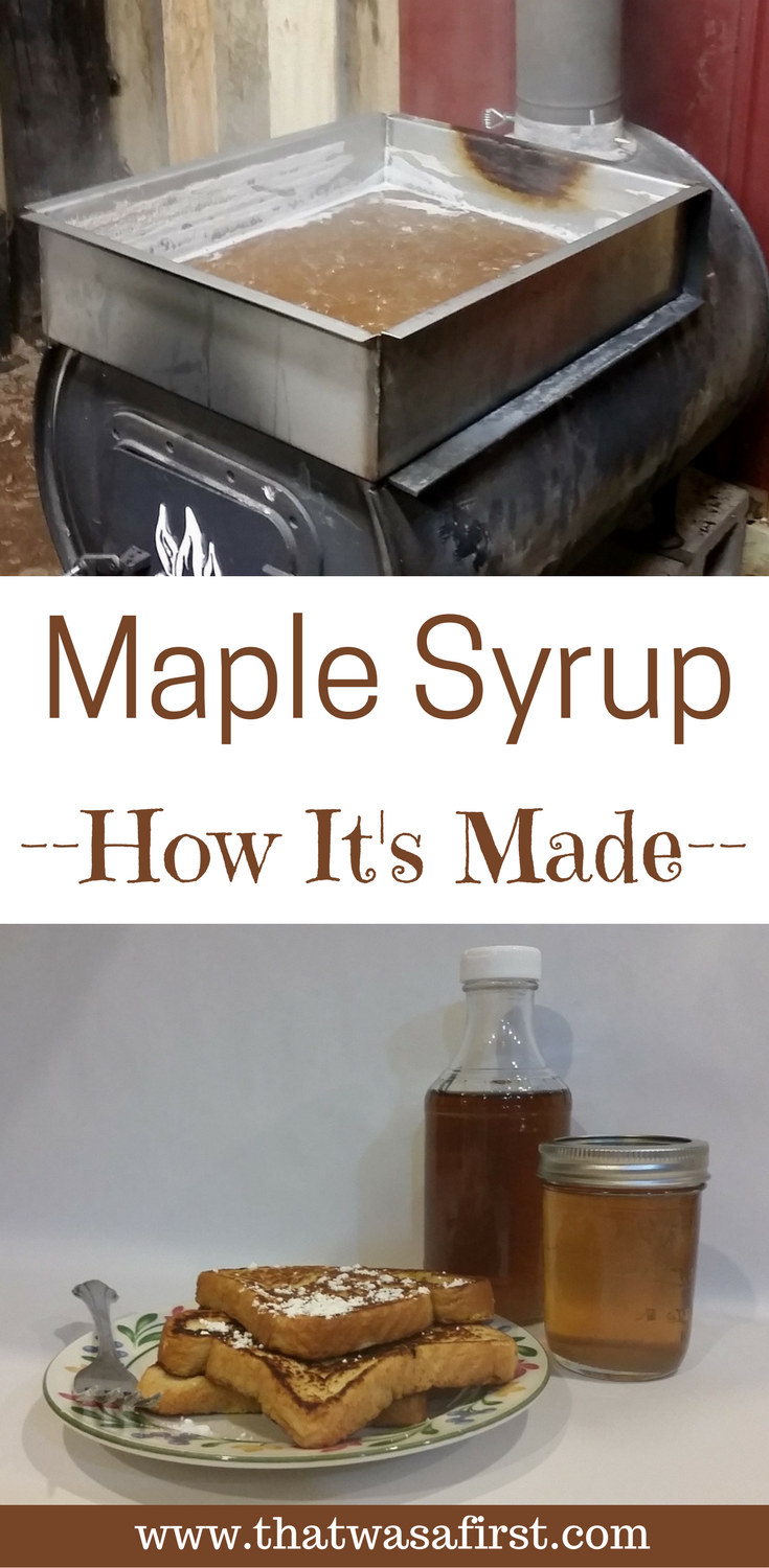 Have you ever had homemade maple syrup? Find out here how it is made!