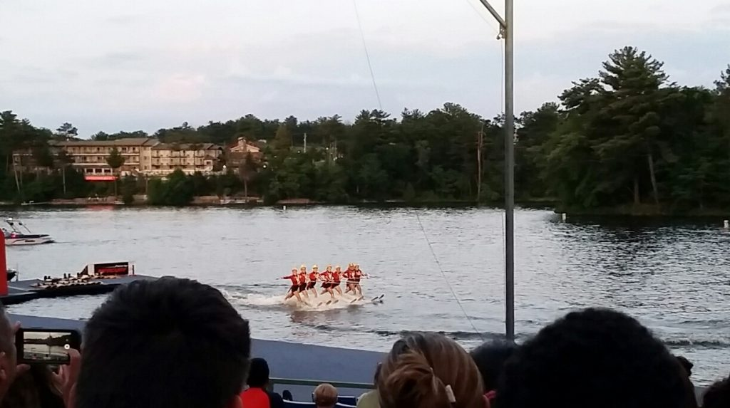 Tommy Bartlett water show in the wisconsin dells