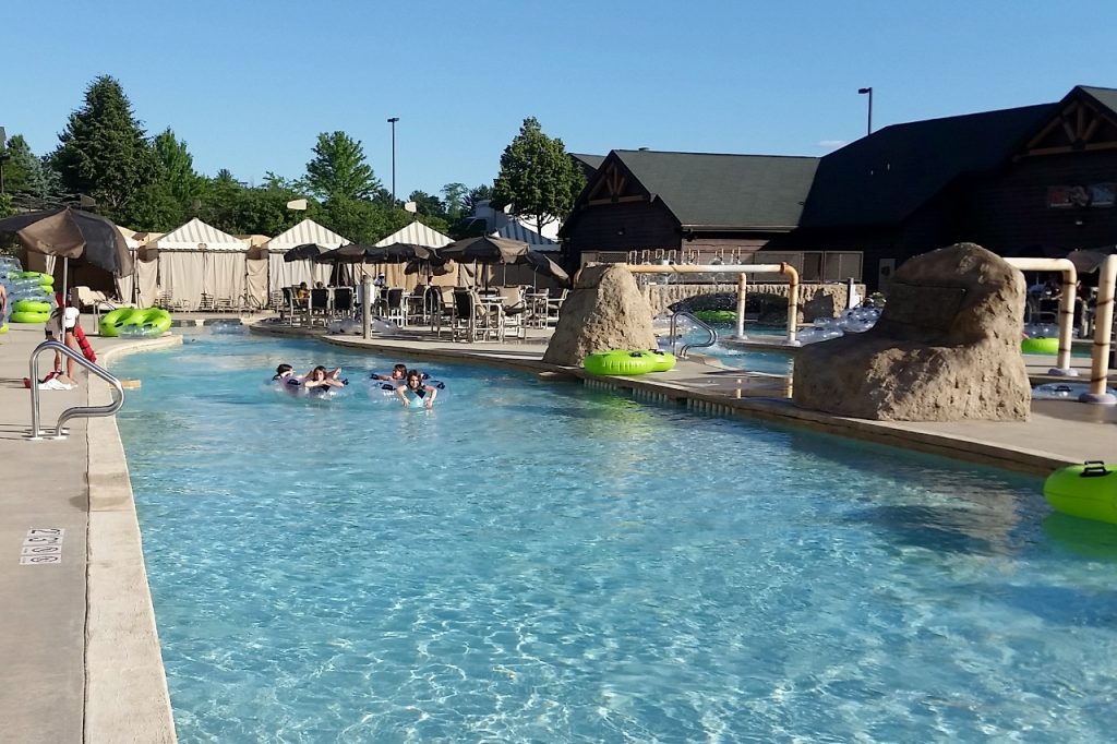 Lazy River at Lost World at Wilderness Resort Wisconsin Dells