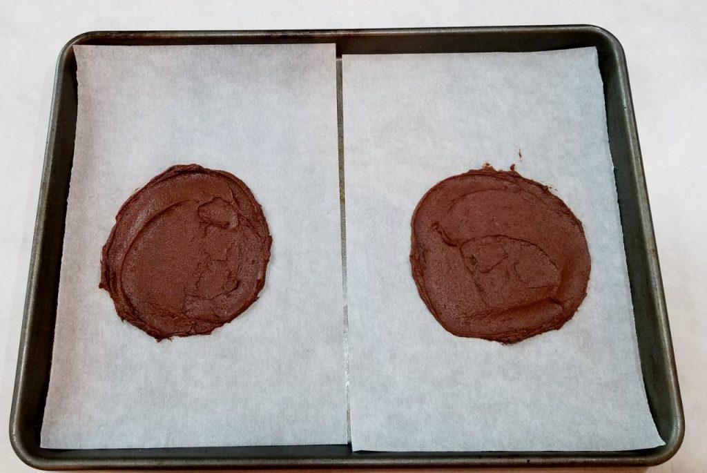 Cocoa taco shells