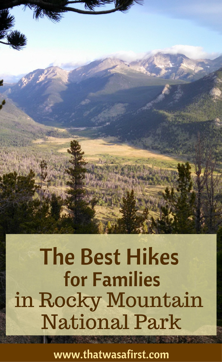 These are the top hikes for families in Rocky Mountain National Park. You'll hike around lakes, spot some wildlife, and see some amazing views.