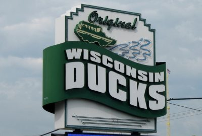 The original Wisconsin Ducks in Wisconsin Dells