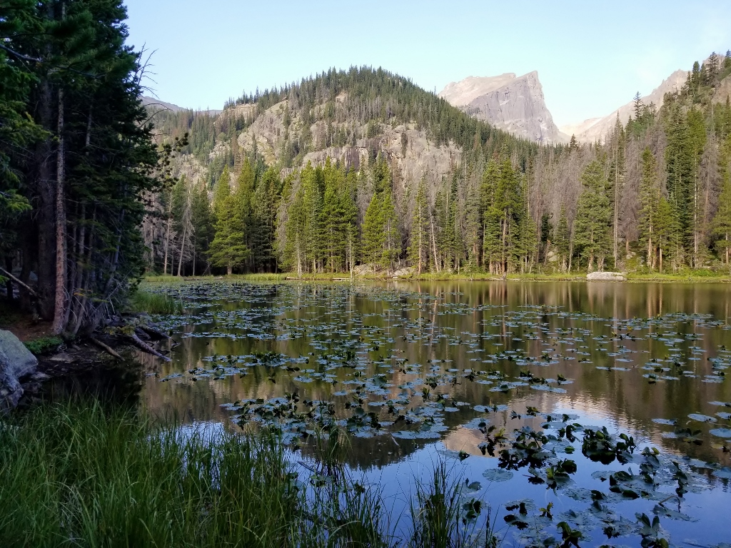 Rocky Mountain National Park Hikes for families Nymph