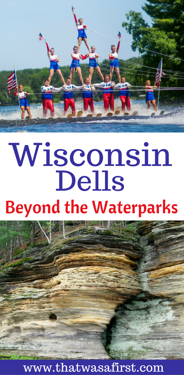 Wisconsin Dells isn't just about the waterparks.  The town is full of family fun!