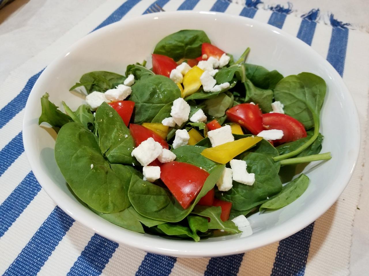 Greek Salad Food First Before Friday challenge
