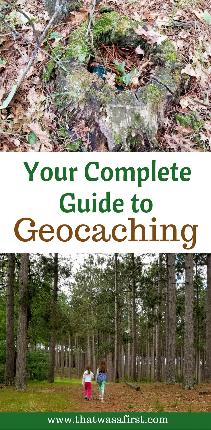 Geocaching is a fun outdoor activity for the whole family! Everyone loves a treasure hunt!