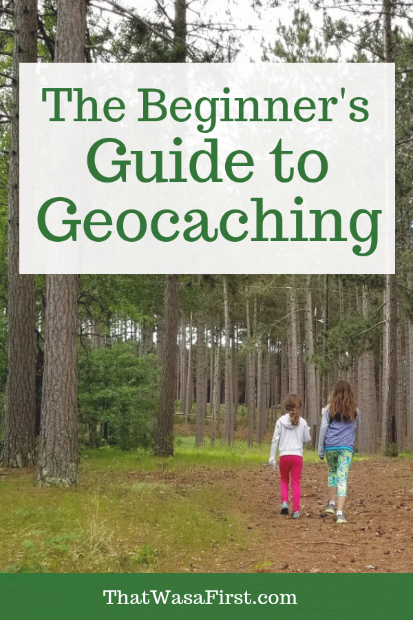 This guide will teach your family the basics of geocaching. You will learn what gear you need, how to find the caches, and what to do when you find one. You will have hours of family fun! #geocaching #geocache #thatwasafirst #familyfun