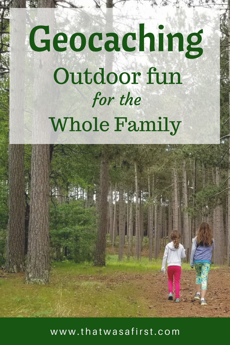 Geocaching is a fun outdoor activity for the whole family!