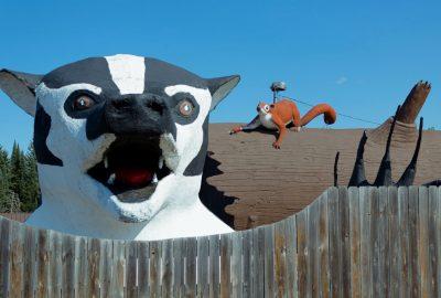 Roadside Attraction Worlds Largest Badger