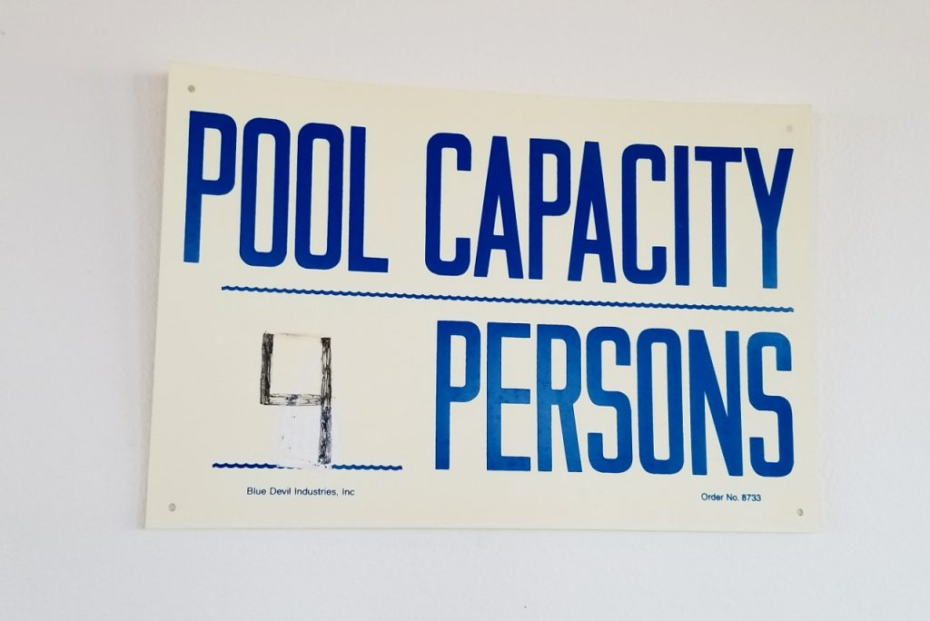 Pool capacity