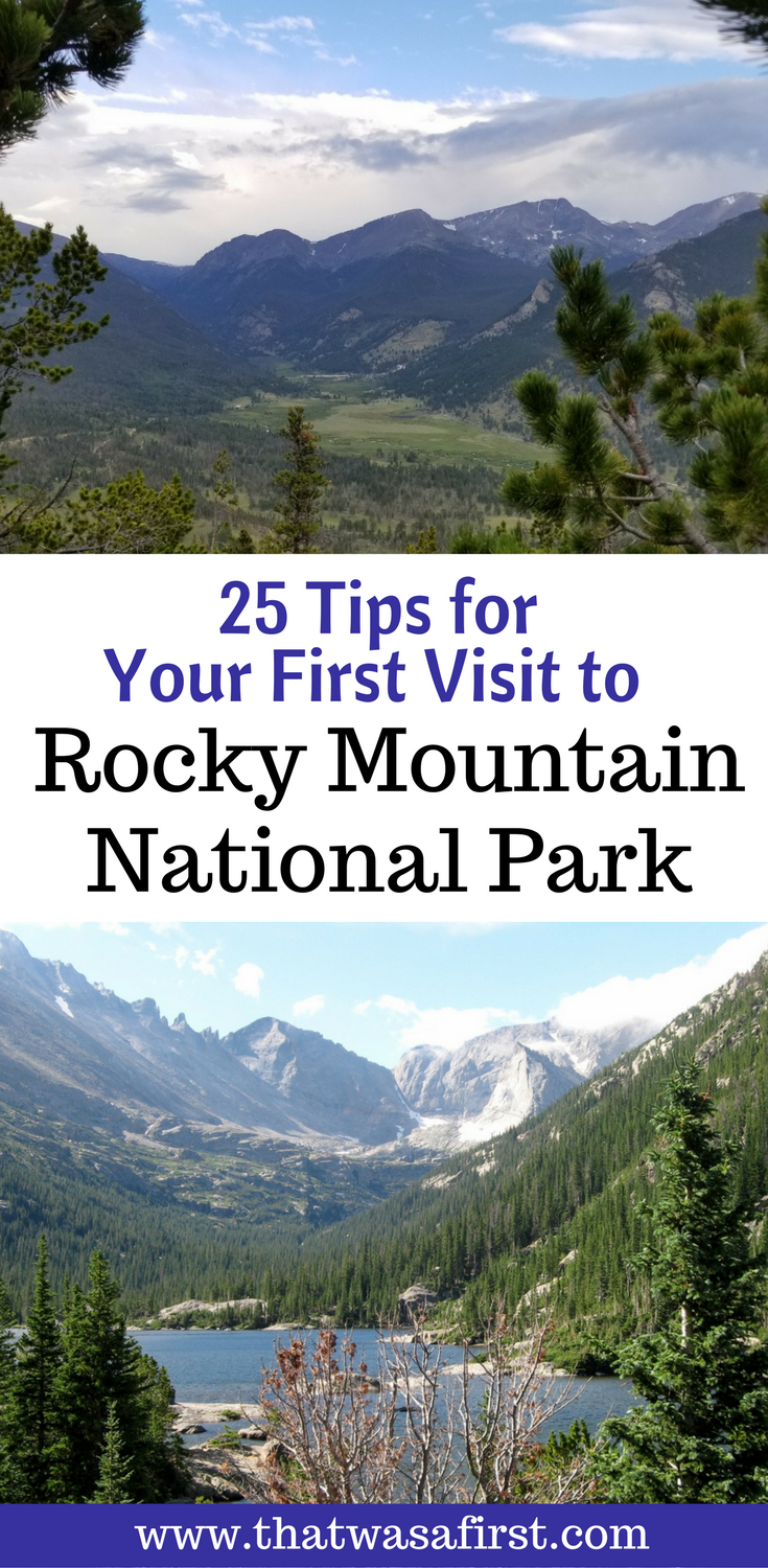 25 tips to avoid vacation disaster when visiting Rocky Mountain National Park