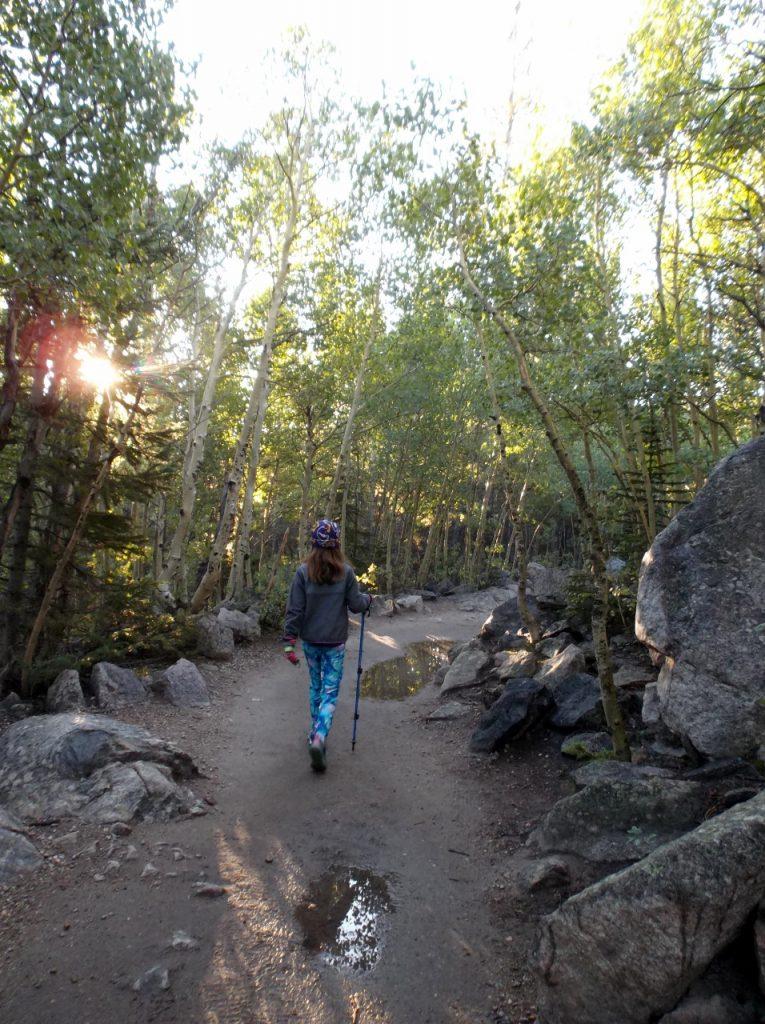 Hiking in RMNP