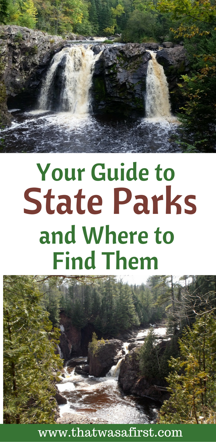 A visit to a state park is a great way to get outdoors and have some family fun!