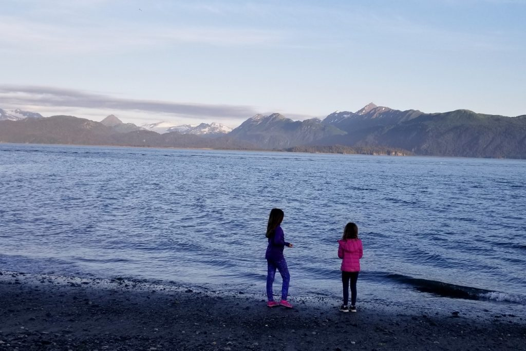 Long days in Alaska