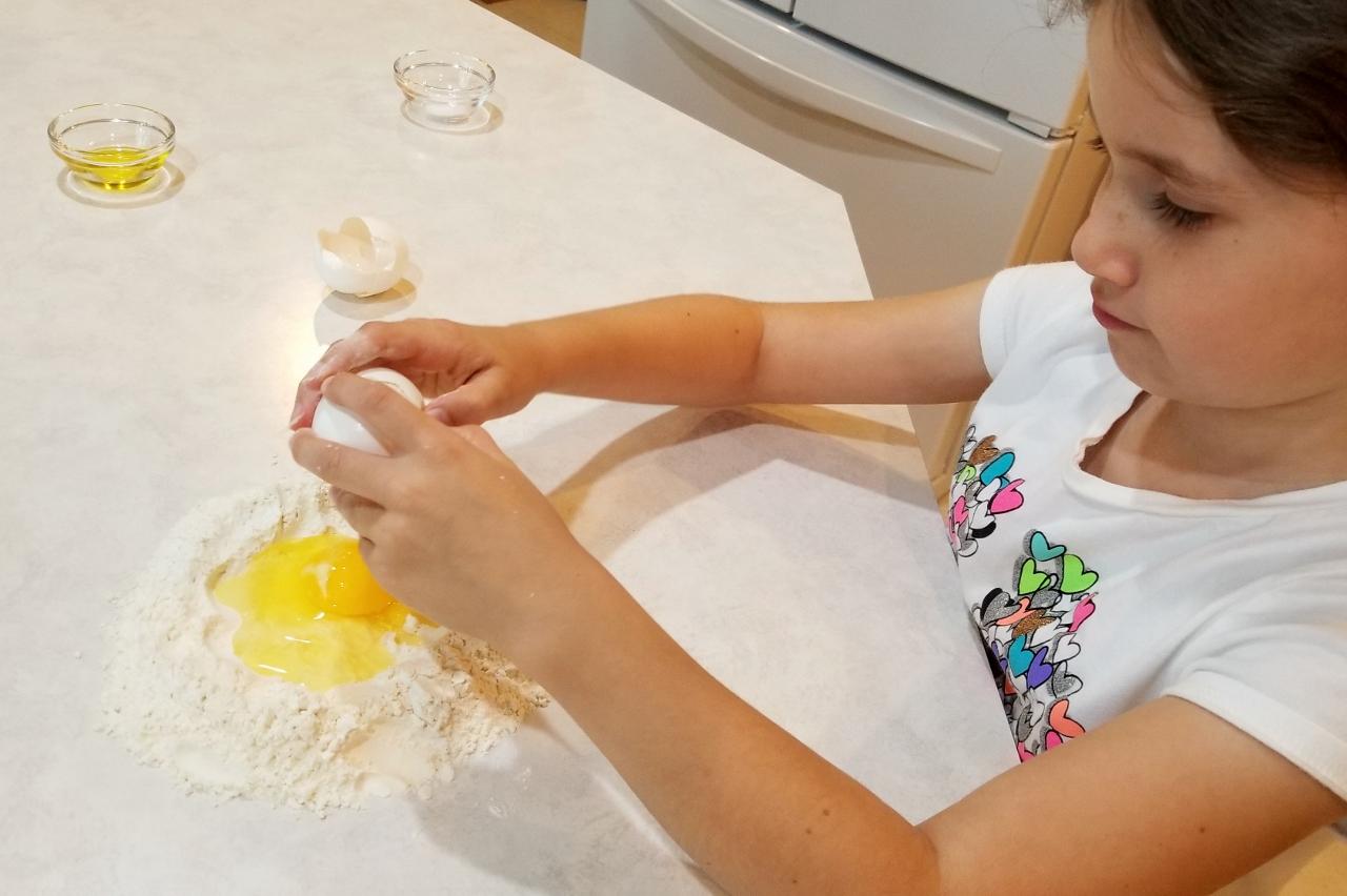 Eggs for homemade pasta