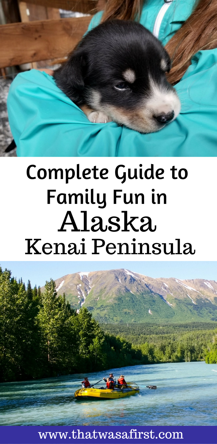 Don't wait until you have an empty nest to visit Alaska! There is a lot of fun to be had for the whole family on an Alaskan vacation.