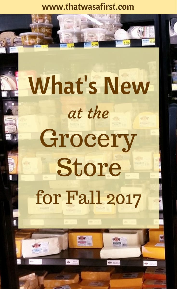 A new season means new foods in the grocery store aisle, and it's not all pumpkin spice! Here's what's new at the grocery store for Fall 2017.