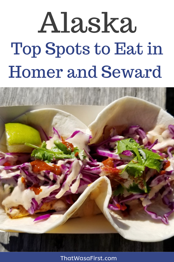 These are the top spots that your family has to eat at while visiting Homer and Seward in Alaska! #Alaska #Homer #Seward #WhereToEat