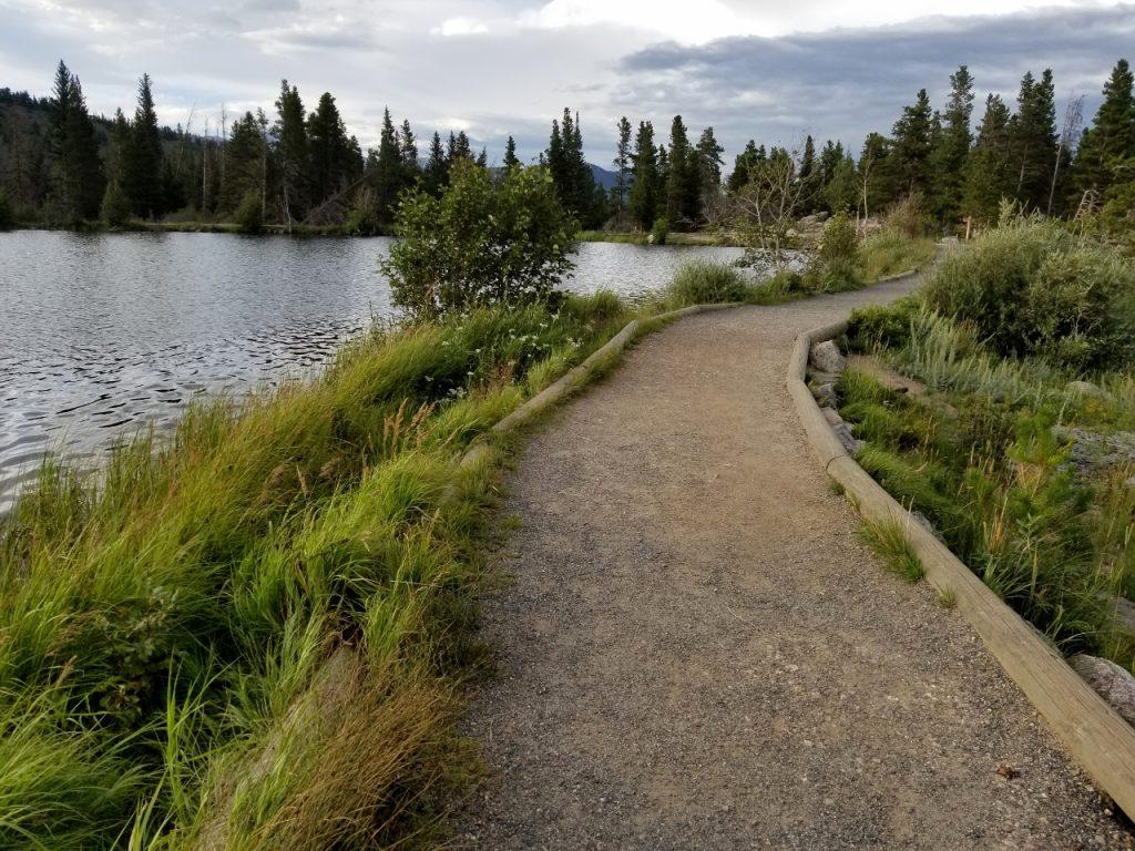 rocky mountain national park sprague lake trail