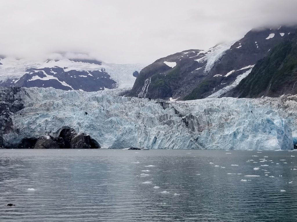 Glacier cruise in Alaska with kids