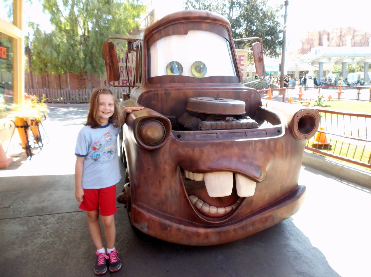 bucket list Cars Land