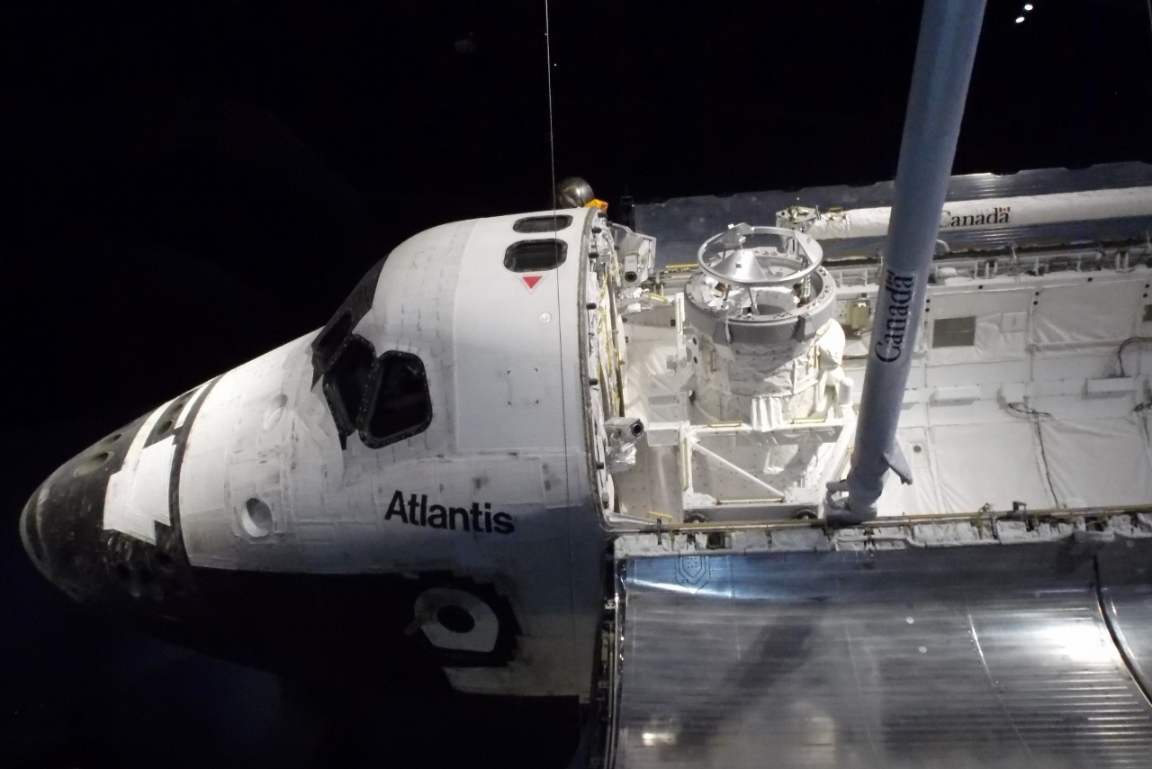 Space shuttle atlantis bucket list