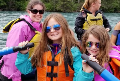river rafting family fun in alaska