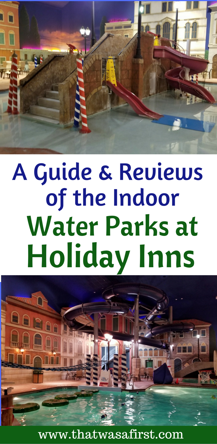Does your family need a short getaway or a fun hotel to stay at during a long roadtrip? That Holiday Inn up the road may just have a water park!