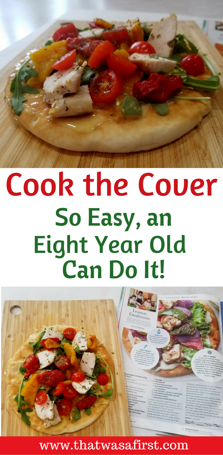 The kids took over this month's cook the cover. Read all about the delicious pita we made from Eating Well magazine.