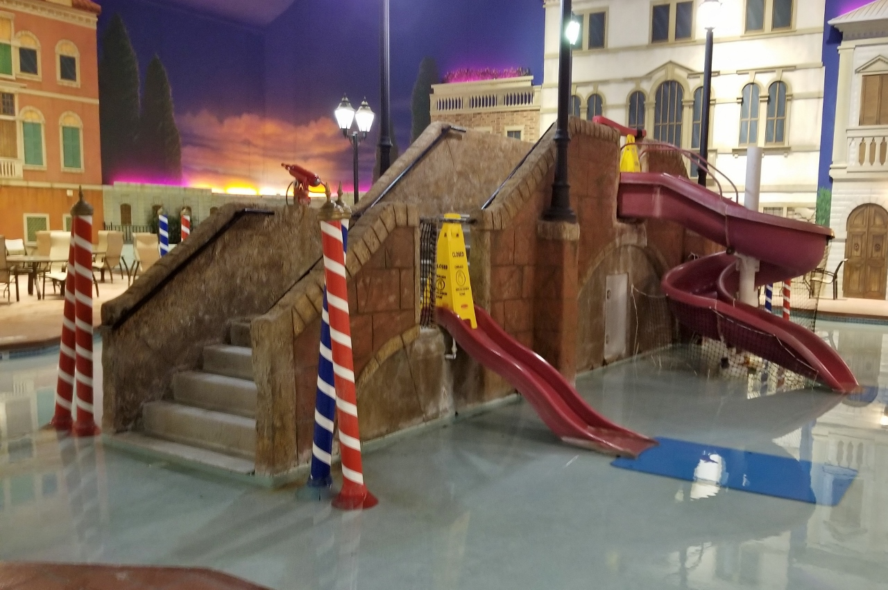 Toddler area holiday inn indoor water park