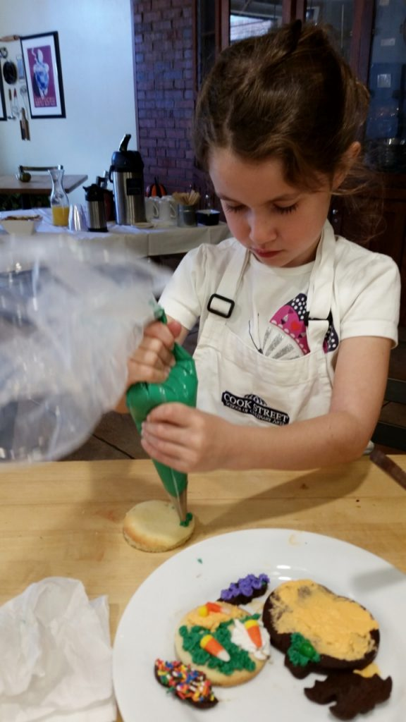 first experiences for kids cooking class