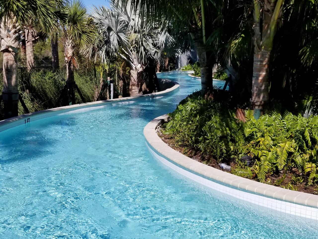 Lazy river at hyatt regency coconut point tips