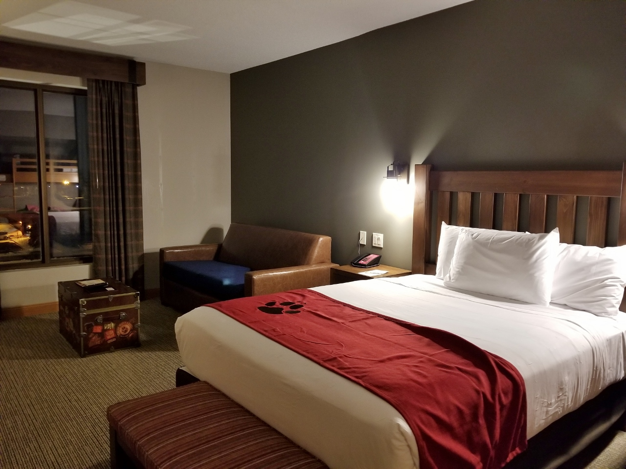 Room at Great Wolf Lodge in Bloomington Minnesota