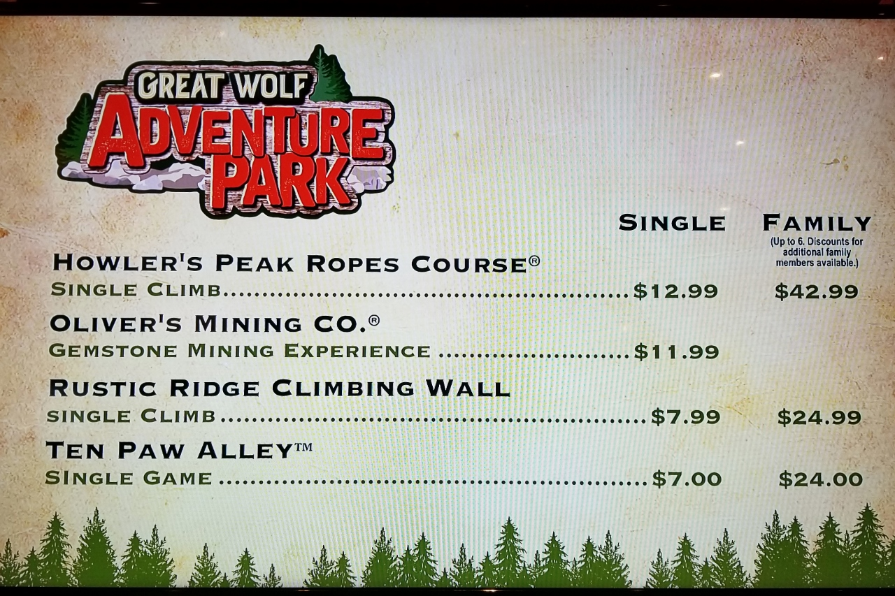 Adventure Park Great Wolf Lodge Minnesota