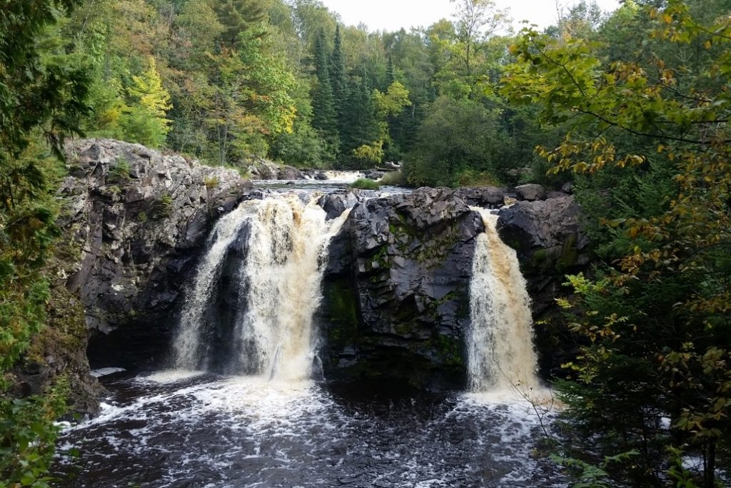 Little Manitou Falls best campgrounds in northwest wisconsin pattison