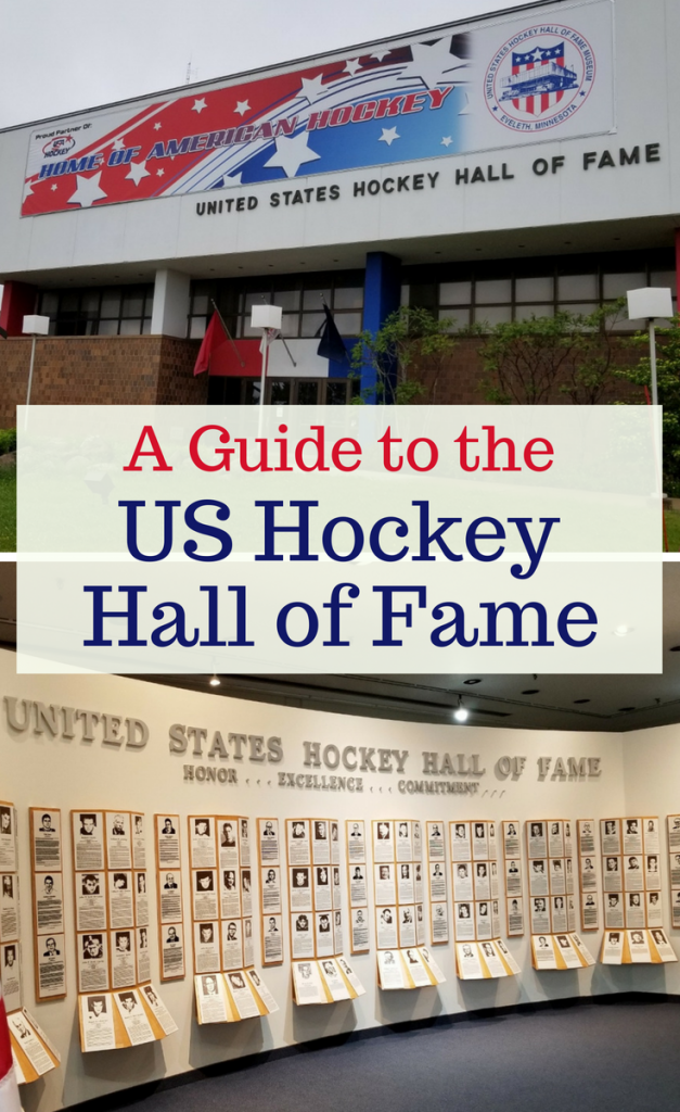 A visit to the US Hockey Hall of Fame is not to be missed! It's located in Eveleth, Minnesota in the heart of hockey country. Here is an inside look of all of the hockey history that the museum holds.