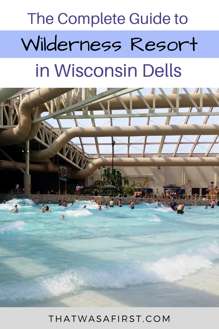 The Wilderness Resort in Wisconsin Dells is one of the top resorts in the area! There are indoor and outdoor water parks so its the perfect destination any time of year!,