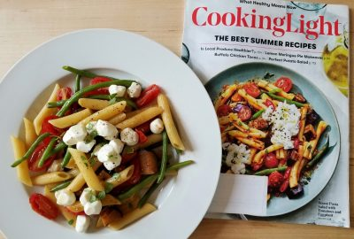 The final result of the cook the cover challenge cooking light