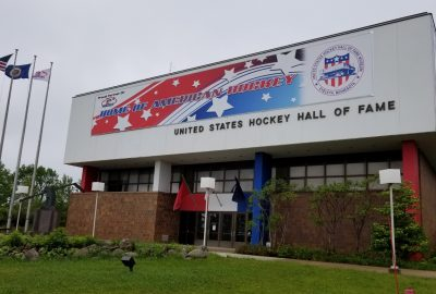 US Hockey Hall of Fame in Eveleth MN