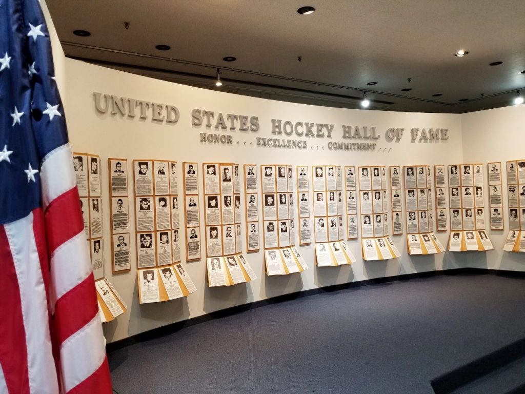 The wall of inductees