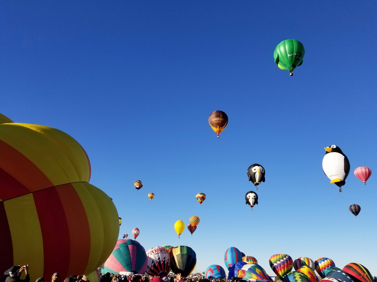 Albuquerque International Balloon Fiesta morning event