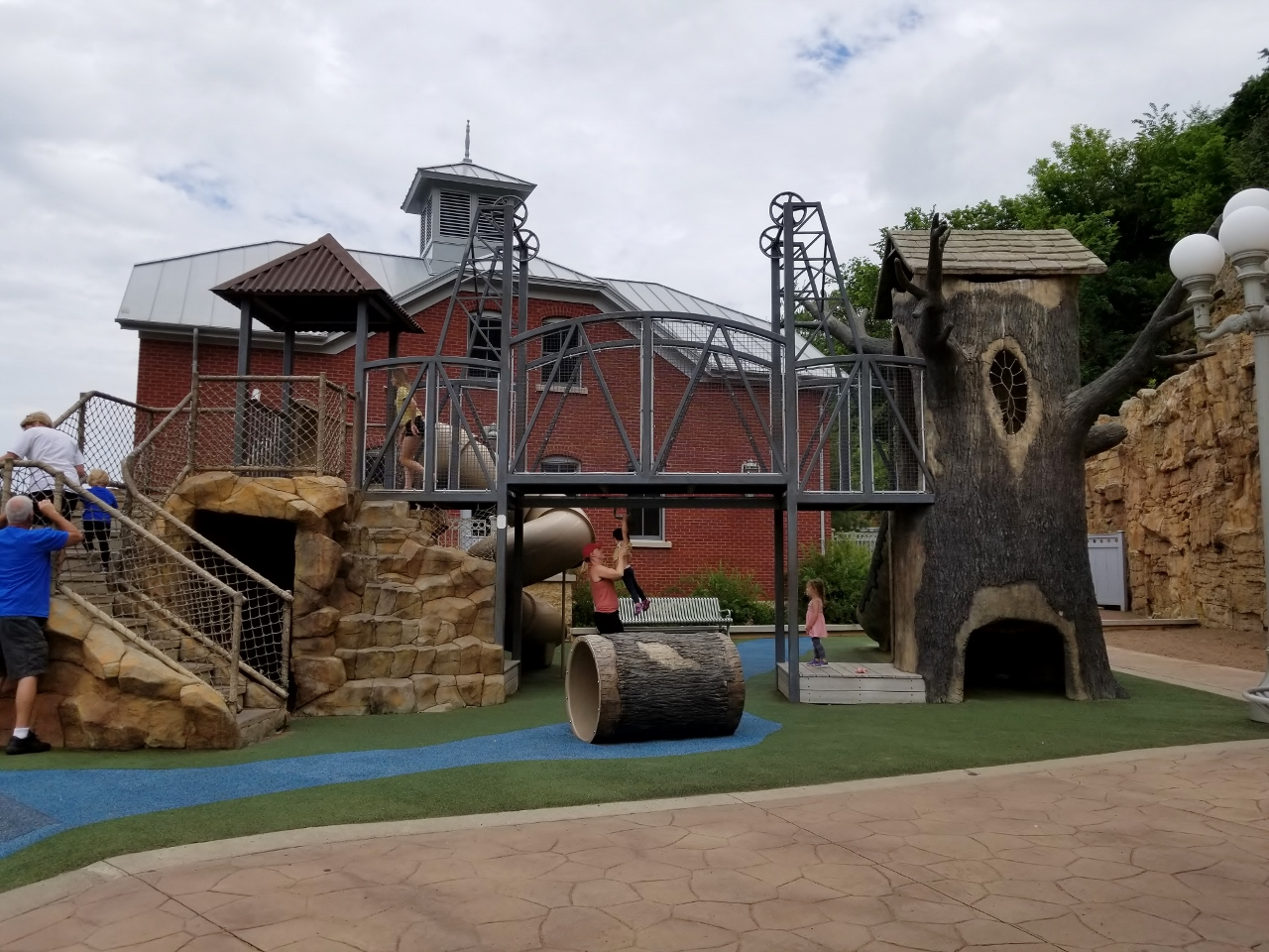 Older kids play area at teddy bear park