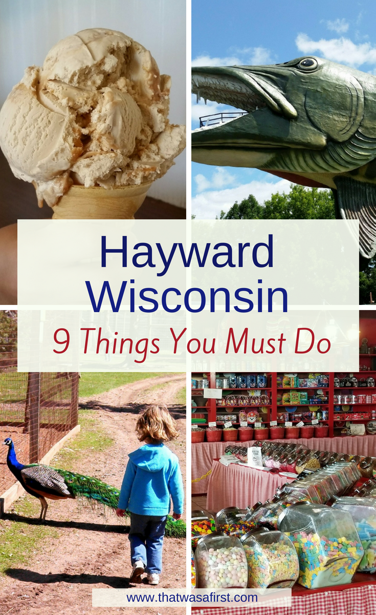 Your family will have nonstop fun when they visit Hayward, Wisconsin. Read about the 9 things that you cannot miss! #wisconsin #midwest #thatwasafirst