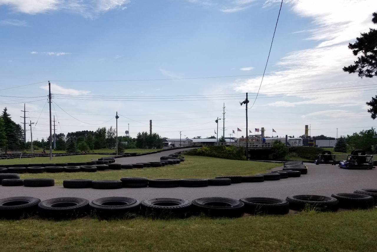 go kart racing in Hayward Wisconsin